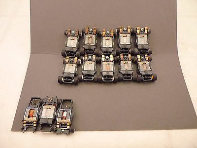 10+3 Tomy Afx Turbo Chassis Used Great For Parts Tomy Turbo,10/ea +3 For Parts
