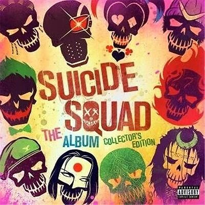 Suicide Squad: The Album - Collector's Edition, 2016  Soundtrack CD NEW