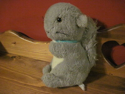 VERY RARE Eden Plush MUSICAL Moving SQUIRREL Plays Farmer in the Dell WORKS