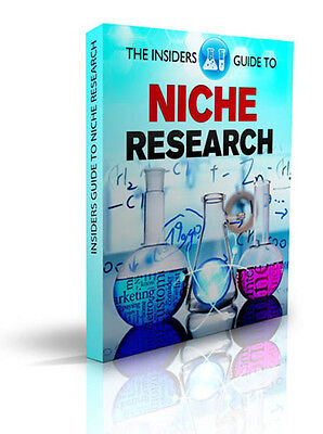 The Insiders Guide To Niche Research eBook-PDF Master Resell Rights