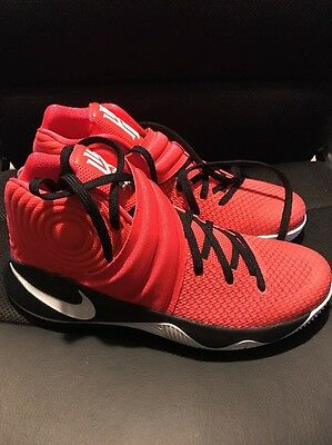 158acf3785e6 NIKE KYRIE 2 Id Red Black Size 10.5 (843253-998) -  109.00