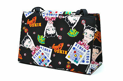 Betty Boop Bingo canvas Tote New Collectable