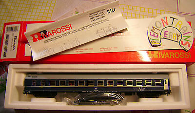 Rivarossi H0 - Carrozza Letti - MU TEN - FS - Made in Italy