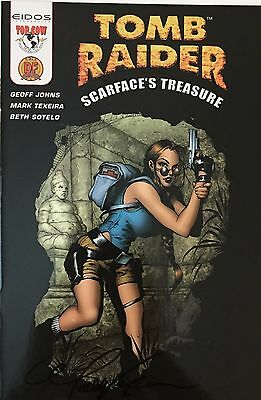 Tomb Raider Scarface's Treasure Signed Mark Texeira Exclusive COA #ed NM