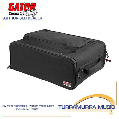 Gator GR-RACKBAG-3U 3RU 3 Unit Fabric & Aluminium Frame Audio Rack Bag Case