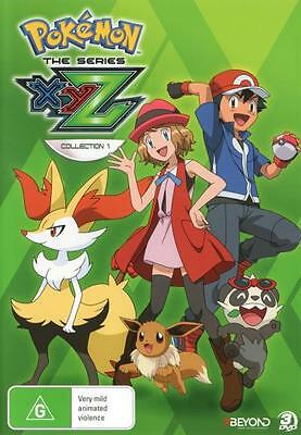 Pokemon The Series: XYZ - Collection 1  - DVD - NEW Region 4