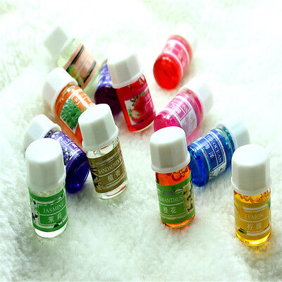 3ML/Box 100% Pure Aromatherapy Essential Oils Bath Massage Skin Care 12 Smells