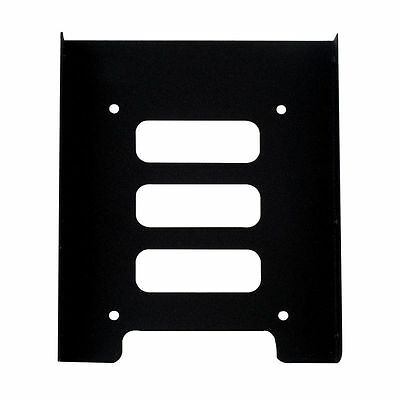 """2.5"""" to 3.5"""" SSD HDD Metal Adapter Mounting Bracket Hard Drive Holder for CU PC"""