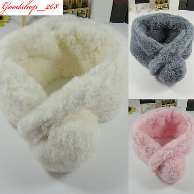 Baby Children O-Neck Warm Scarf Girl Boy Collar Winter Scarf Wrap Shawl 1-6T lot