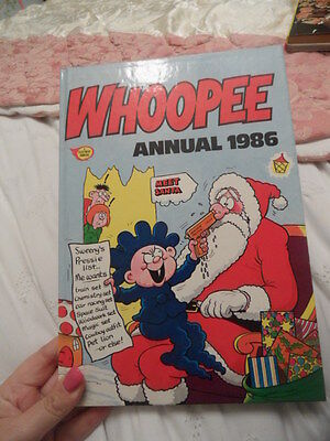Whoopee Annual 1986 - Price Unclipped