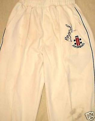 Match Worn Pakistan Cricket Test Trousers Signed Mohammad Yousuf England Tour 06