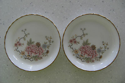 Royal Doulton Signed Pin Dishes (2)-Michael Doulton 1980 'canton' Perfect Cond
