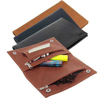 Premium Genuine Leather Hookah Cigarette Tobacco Pouch Case Bag Perfect Gift