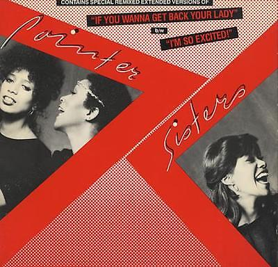 """If You Wanna Get Back Y... Pointer Sisters USA 12""""  record (Maxi)"""