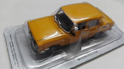 die cast MOSKVITCH 2140 - 1977 - SCALA 1/43 legendary cars