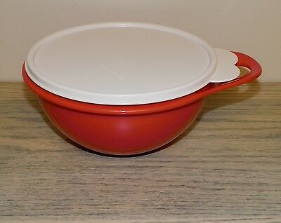 Tupperware THATSA BOWL 6 Cup RED Fire  NEW