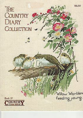 CROSS STITCH BOOK - 'A Country Diary Collection' - Edith Holden 1906
