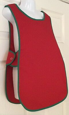 Wholesale 20 Brand New Childrens Kids Tabard Aprons Red Clothes Craft Toddler