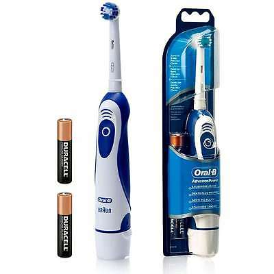 Braun DB4010 Oral-B Advance Power Dual Battery Operated Electric Toothbrush