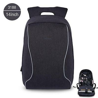 Anti Theft waterproof ultra shakeproof casual unisex slim polyester backpack
