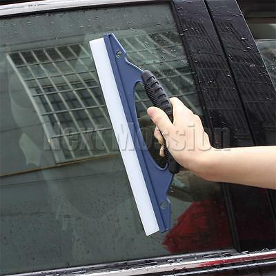Silicone Dry Blade Car Squeegee Window Clean Wiper Wash Water Valeting Cleaner