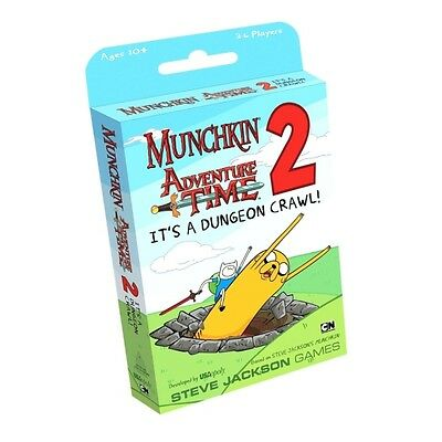 Munchkin Adventure Time 2 Its a Dungeon Crawl! Expansion Brand New