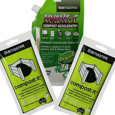 NEW Compost-It(R), Accelerator-Pack Biomaster