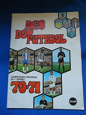Portugal Ases Do Futebol 1970 / 1971 Cards Stickers Album Complete Look Scans