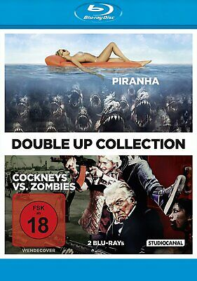 Cockneys vs. Zombies & Piranha - Double-Up Collection # 2-BLU-RAY-NEU