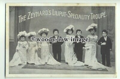 su2493 -  Children on Stage,The Zeynard's Liliput-Speciality Troupe - Postcard