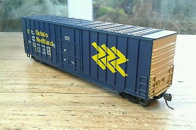 Roundhouse Ho, 50' Hi-Cube Box Car, Ontario Northland #7605   (17)