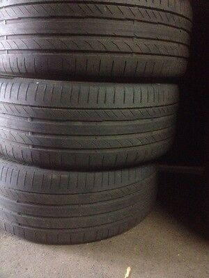X4 235/40/19 Continental Sport Contact5 Tyres! Mobile Tyre Fitting Available