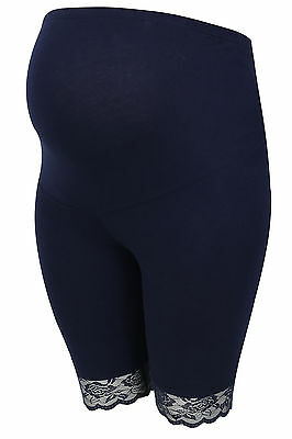 YoursClothing Plus Size Womens Bump It Up Maternity Cotton Elastane Legging