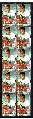 Jackie Robinson Baseball Legend Strip Of Mint Stamps 4
