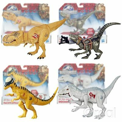 New Jurassic World Bashers & Biters Action Figures Tyrannosaurus Rex Official