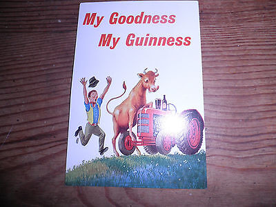 Old Guinness postcard - My Goodness,My Guinness