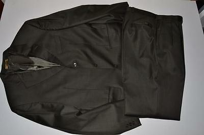 Jack Victor Olive Green 3 Button Blazer Suit Jacket Mens Size 40R 32 X 30