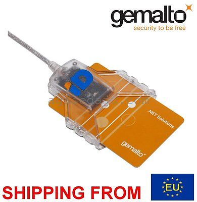 GEMALTO CT30 ID card reader USB  Smart Card USB, ID, eID, CAC Common Access
