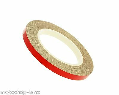 IXS Rim Sticker Motorcycle 5mm Rims Sticker Wheel Stripe red reflective