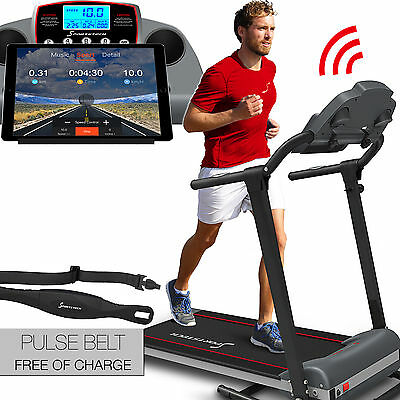 walking training walker large running surface cardio trainer with pulse belt F10