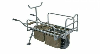 Nash Tackle NEW Trax MK2 Evo Fishing Barrow + Free Prestige Barrow Cover