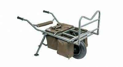 Nash Tackle NEW Trax MK2 Metro Fishing Barrow + FREE Prestige Green Cover