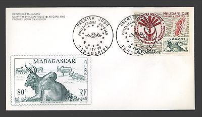 Malagasy Republic 1969 First Day Cover Sc. C92