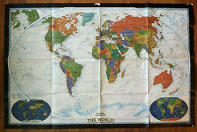 Map of the World Poster by National Geographic Society 2002