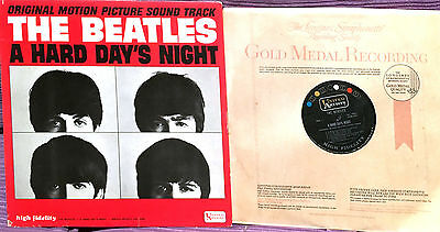 THE BEATLES  - LP  A HARD DAY´ NIGHT  - SOUNDTRACK - 1st MONO EDITION USA 1964