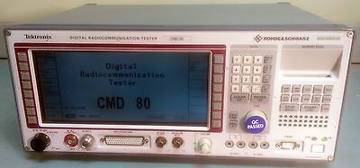 Rohde & Schwarz CMD80 AMPS, CDMA and TDMA Digital Radio Tester
