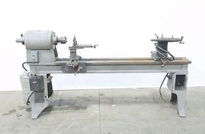 J.g. Blount Style La 2Hp 220V-Ac 3Ph Wood Lathe 80X9 In D548681