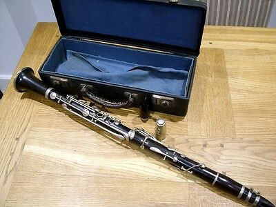 Quality Antique Martin Fres Paris Clarinet French Grand Prize Winner Instrument