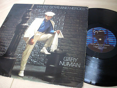 "Gary Numan White Boys And Heroes A1 B1 UK 12"" Beggars Banquet BEG 81T 1982"
