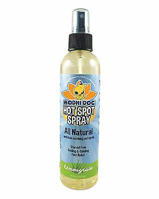 NEW All Natural Pet Hot Spot Spray | Soothing Plant Based Dog Treatment Vet a...